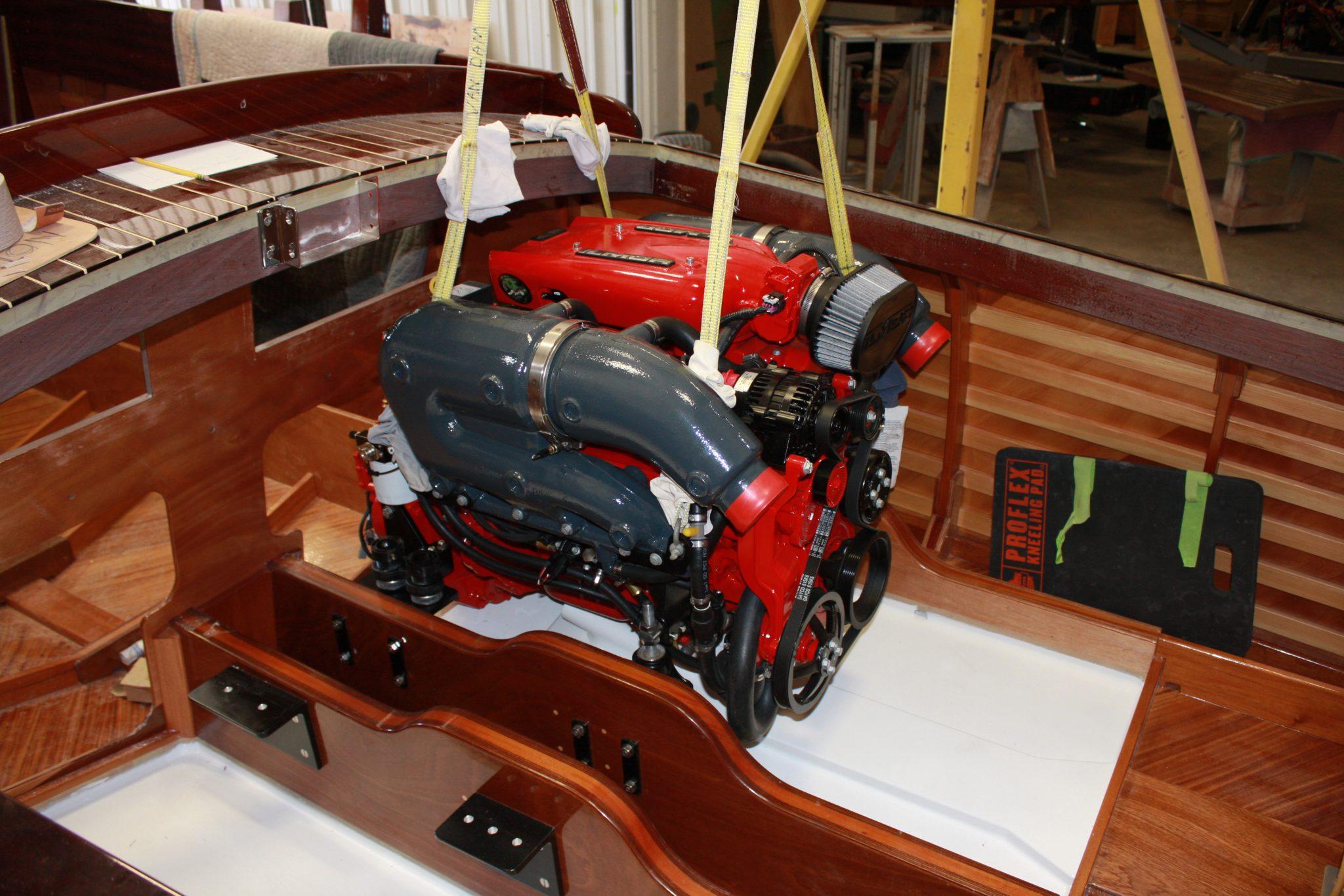 Lowering engine in to Luv N It