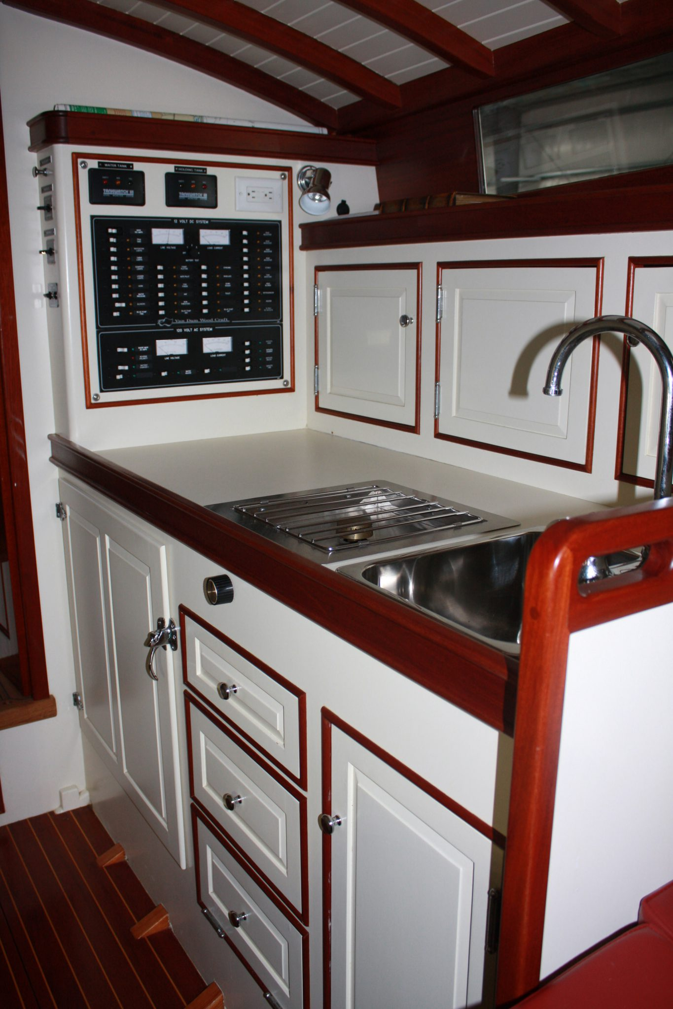 The galley in Geronimo