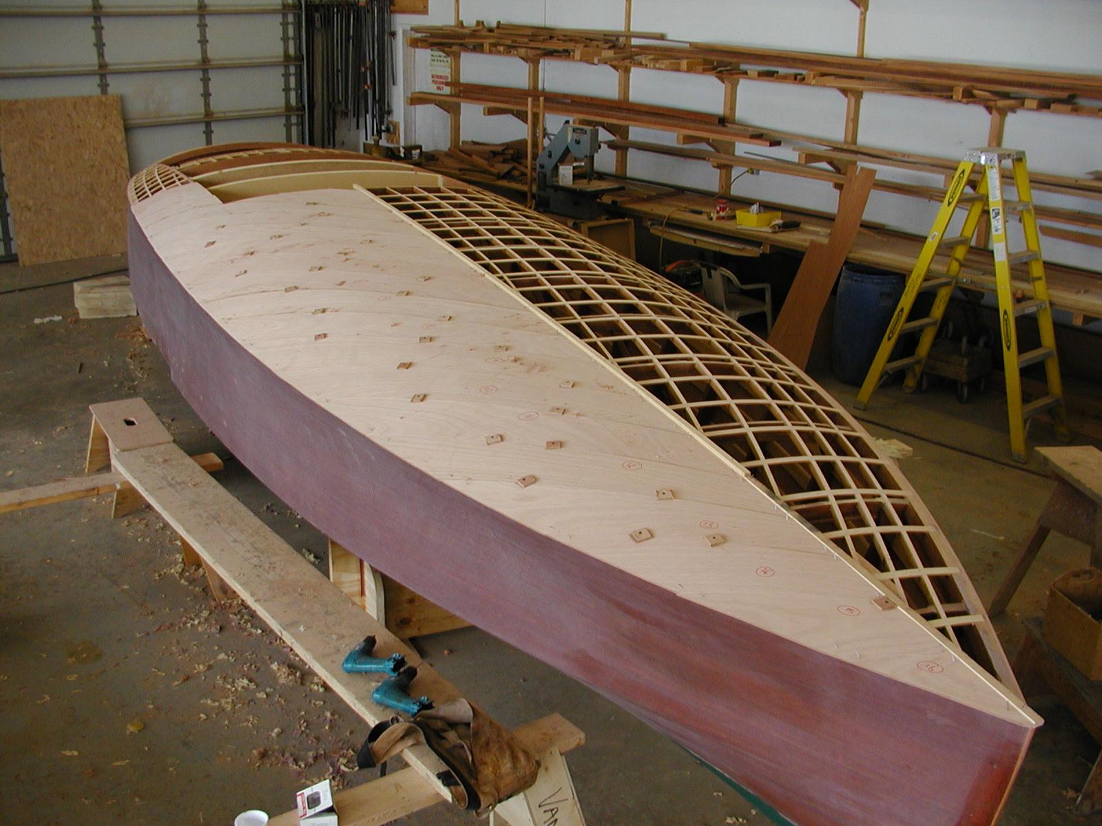 Deck planking on Impshi