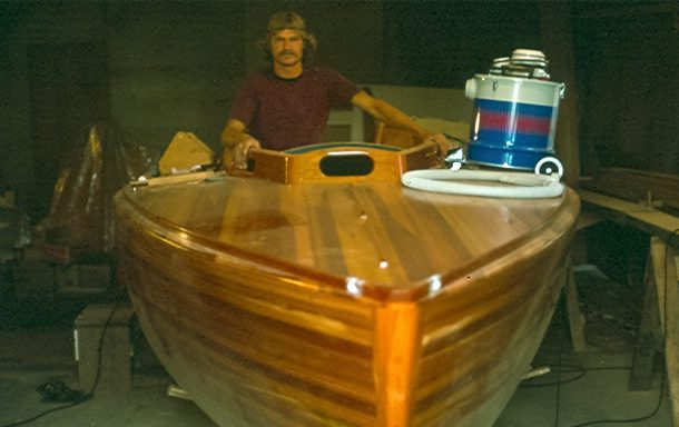 Founder Steve Van Dam in Feather circa 1973
