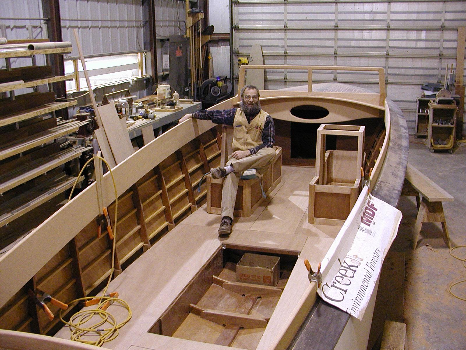 Testing seating on interior