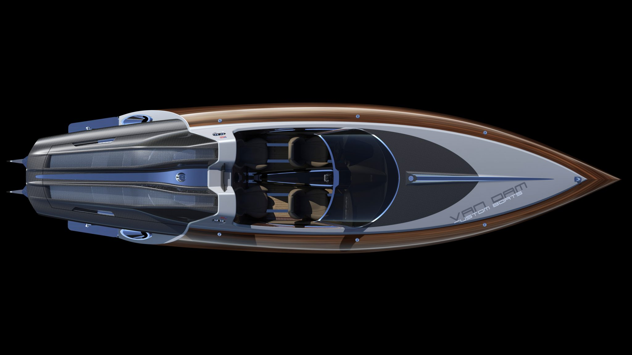 Over view of concept boat