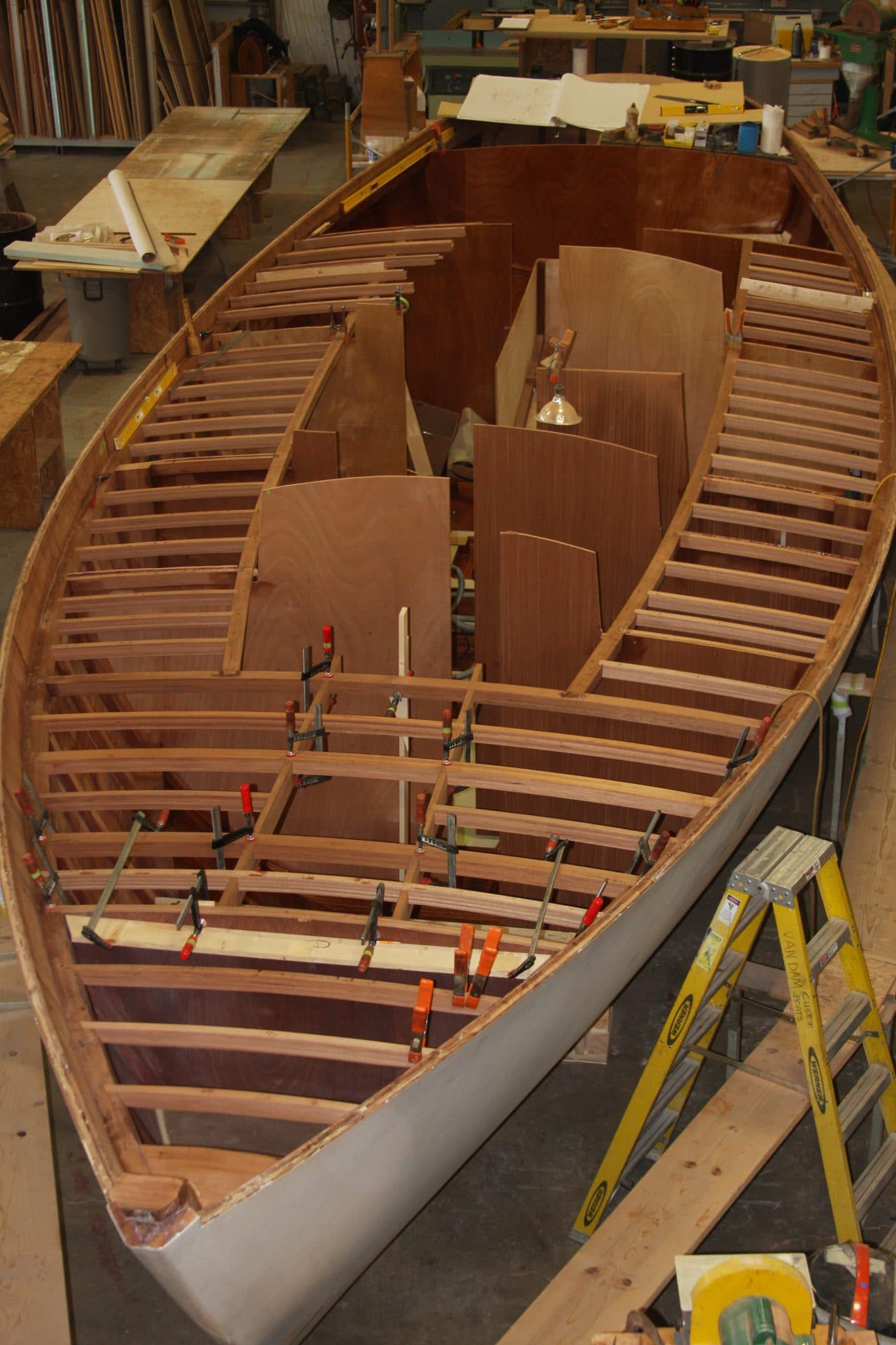 Deck construction continues on Italmas