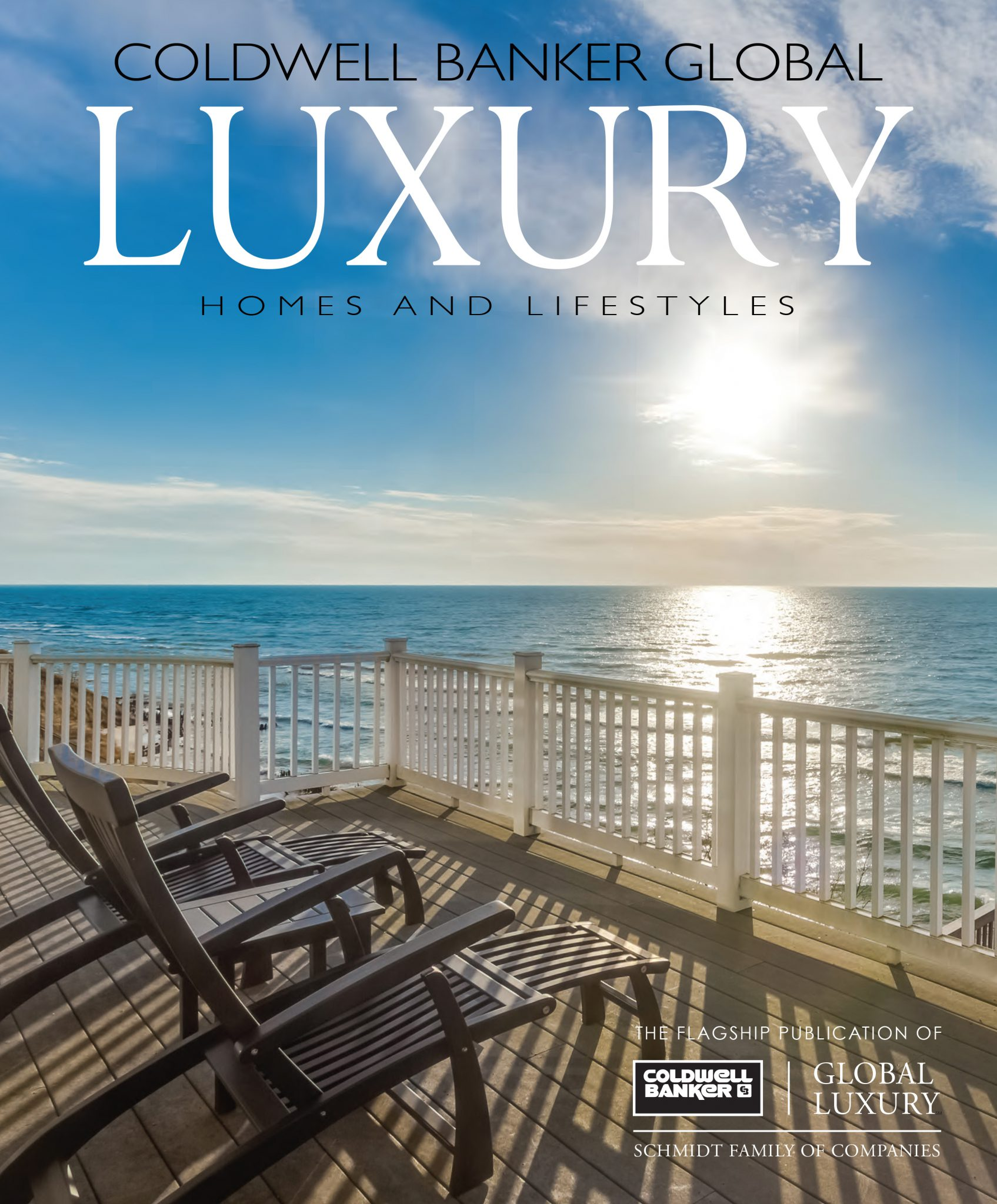 Cover of Coldwell Banker Global Luxury magazine.