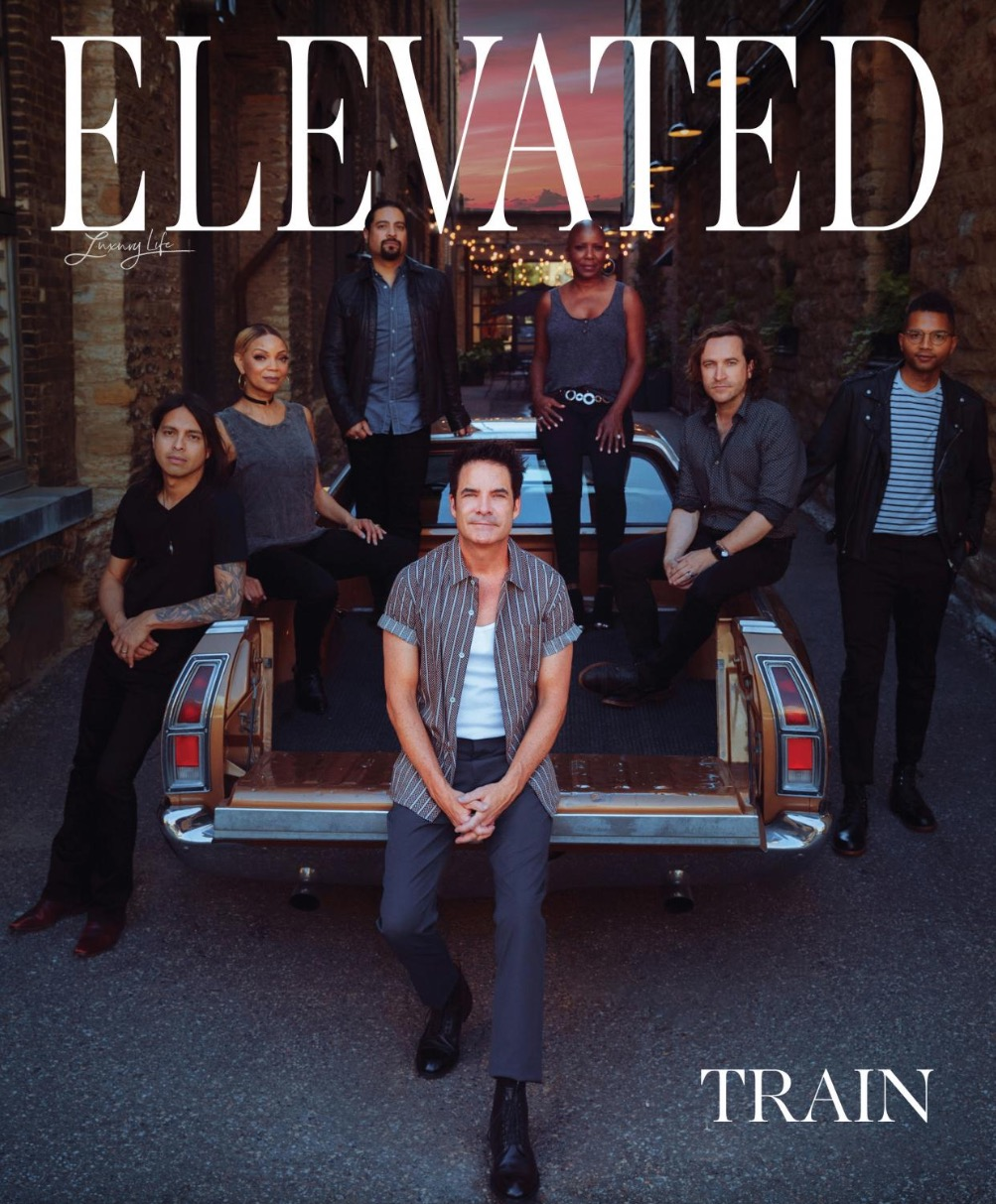 Cover of Elevated magazine.